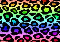 body background Neon Rainbow Animal Print Backgrounds